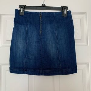 Skirts - Bodycon Denim Skirt